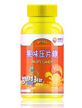 贝蒂熊系列 果味压片糖